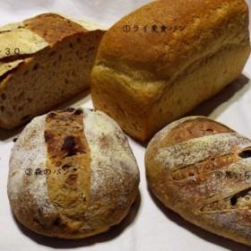 石窯天然酵母パン ハード系パンセットA