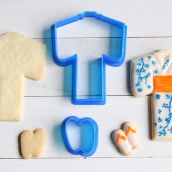 浴衣セットクッキー型・クッキーカッター
