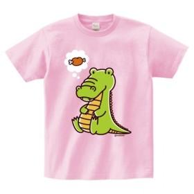 食いしん坊ワニTシャツ(大人 子供サイズ)