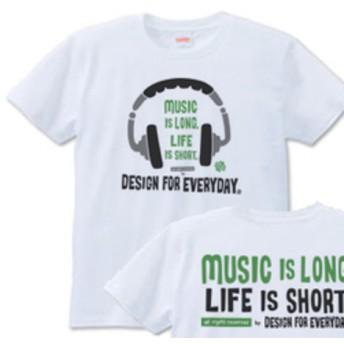 ヘッドホン S XL Tシャツ【受注生産品】