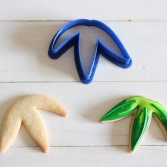 笹の葉クッキー型・クッキーカッター