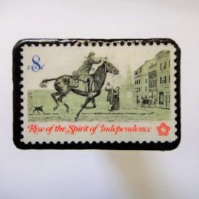 アメリカ 1973年切手ブローチ101