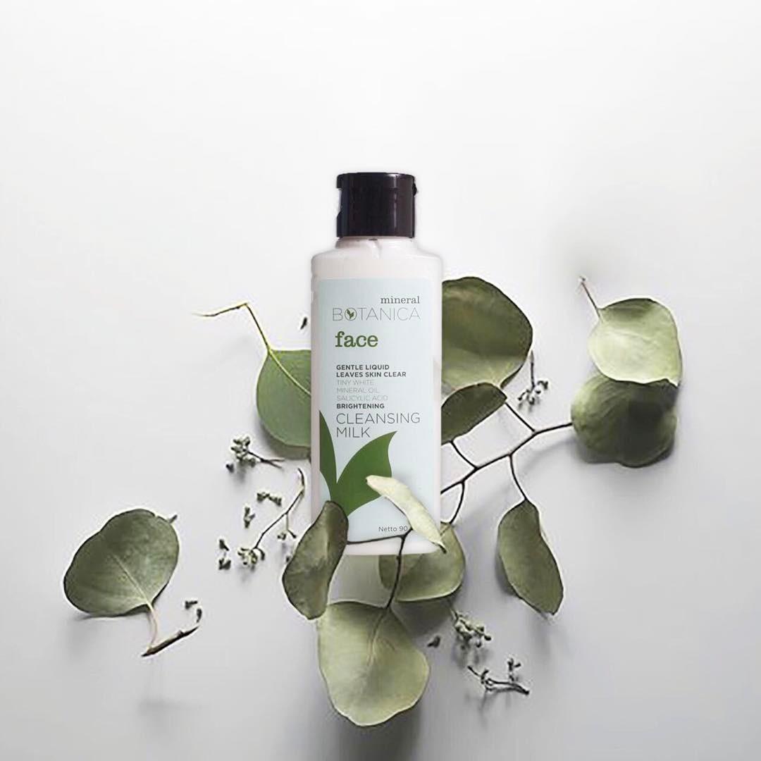 Saeisgood Shop Line Mineral Botanica Whitening Plus Complex Day Cream Brightening Cleansing Milk