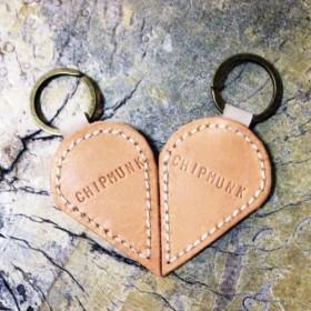 カップルキーリング結婚記念日には、キーリングをカスタマイズし、残りの半分告白は、手作りの革の香り必要があります