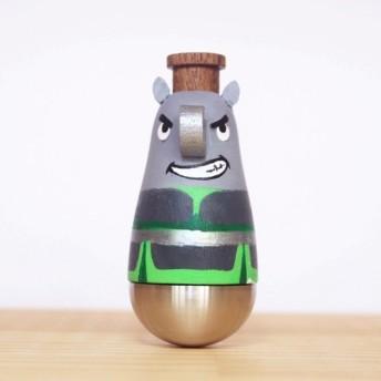Wen Sendi - [Rhinocero Warrior]カズディ/楽器/人形