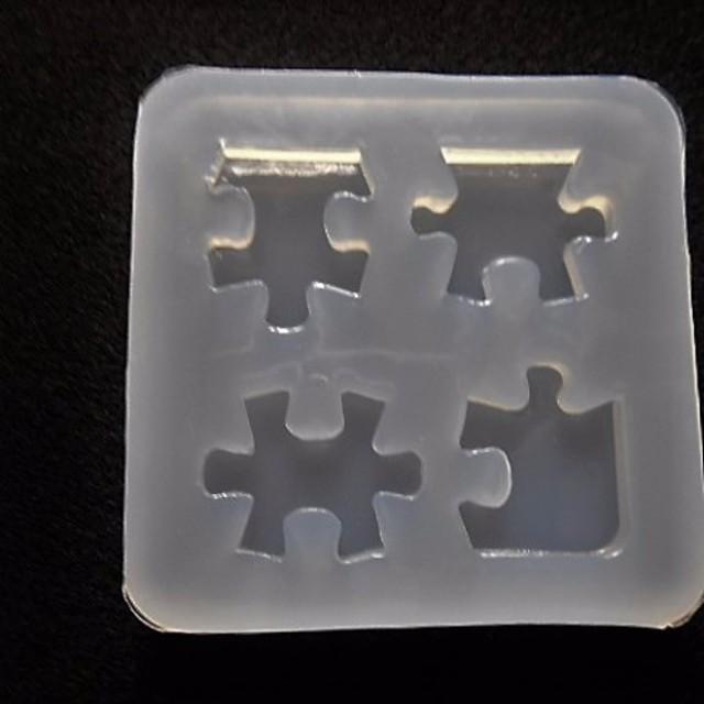 a6★シリコンモールド★パズル★レジン/型/樹脂粘土