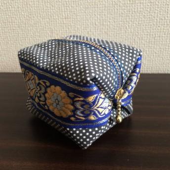サイコロ キャラメルポーチ ~ribbon from Singapore