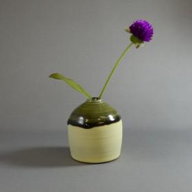 veil single flower vase (黄色)