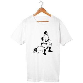 プロレスTシャツ 逆海老固め(5.6oz)