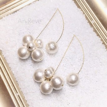 ◇ cotton pearl american pierce ◇