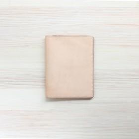 江川[手]愛のトラベルパスポートホルダー/オリジナルの革の色/純粋な手縫いの革