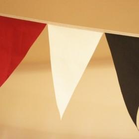 布ガーランド 290cm フラッグ 旗 結婚式 パーティー キャンプ 飾り モダン