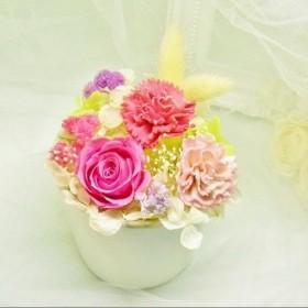 母の日 カーネーションとローズお花畑