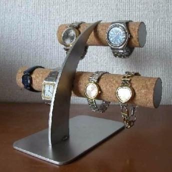 クリスマスプレゼントに!6本掛け腕時計スタンド