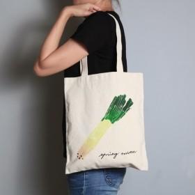 手描きの手形の9オンスバッグ【エシャロット] Peibuは、パターンハンド/ショルダー両面