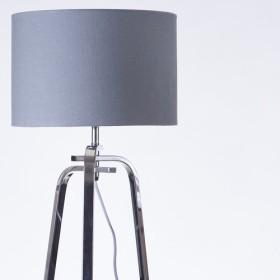 クロム金属製テーブルランプ-BNL00002