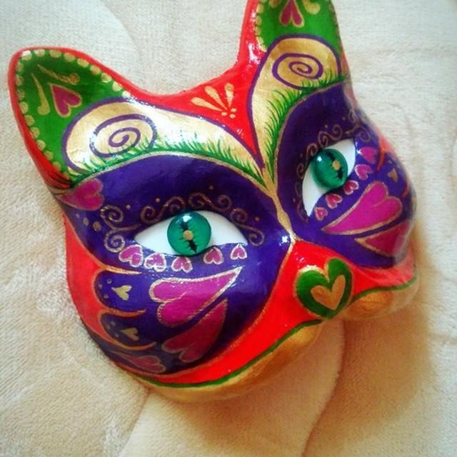 猫の仮面(バタフライ)