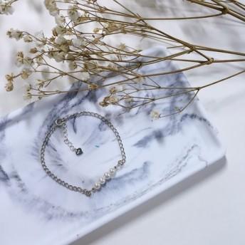 シンプルな真珠のブレスレット[II]