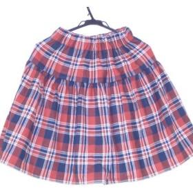 ギャザーたっぷり2段スカート