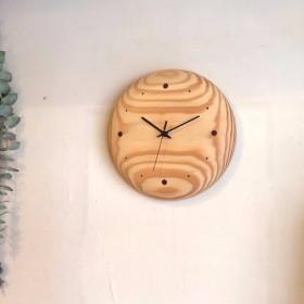 掛け時計 maru パイン