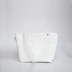 【N/no × E/zel.】SOME WAY LIGHT TOTE BAG (S+)_PP/WHITE