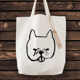 フレンチブルドッグ トートバッグ 犬