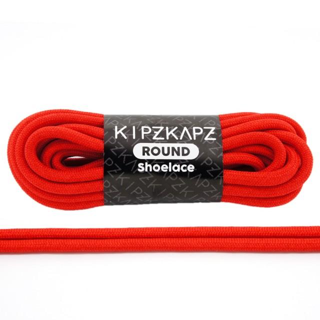 KipzKapz RS44 True Red 90cm / 115cm / 140cm / 160cm - Tali Sepatu Bulat / Round Shoelace: Rp 28.000