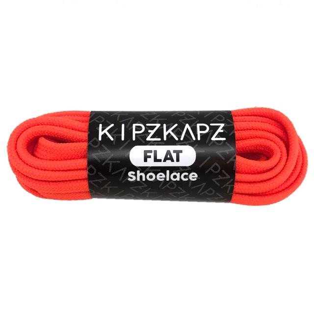 KipzKapz FS56 Safety Orange 115cm /140cm / 160cm - Tali Sepatu Pipih / Flat Shoelace: Rp 28.000