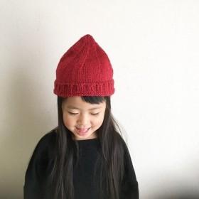 どんぐり帽子/子供用 赤