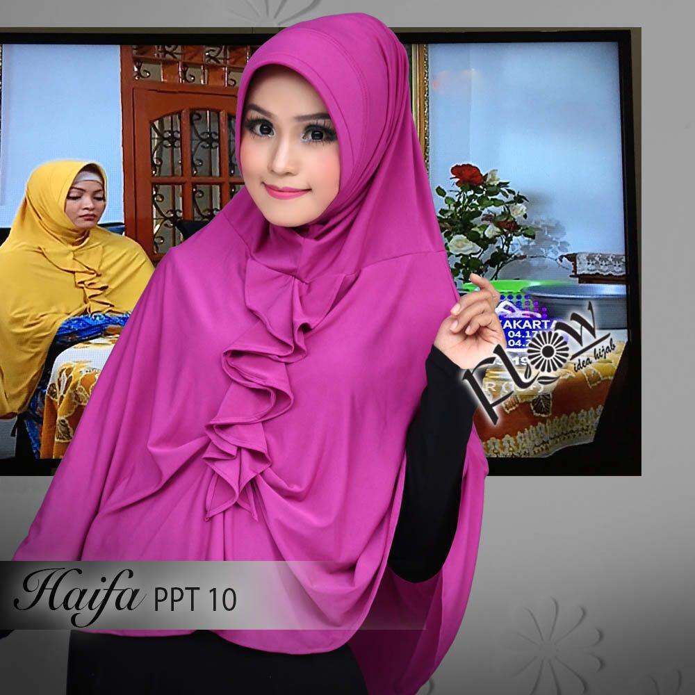 Grosir Hijab Alfath Shop Line Jilbab Kerudung Tammia Instan Siria Haifa By Flow Bahan Jersey