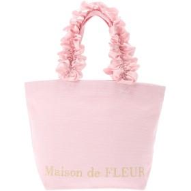 【5,000円以上お買物で送料無料】フリルハンドルトートSバッグ