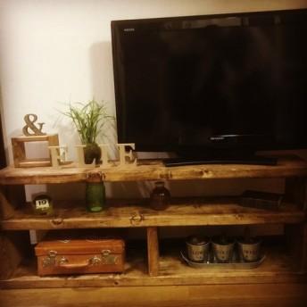 極厚アンティークテレビボード1200