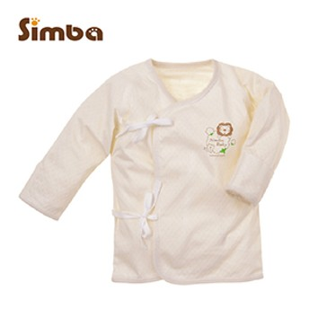 Simba小獅王辛巴 有機棉反袖肚衣(60cm/70cm)
