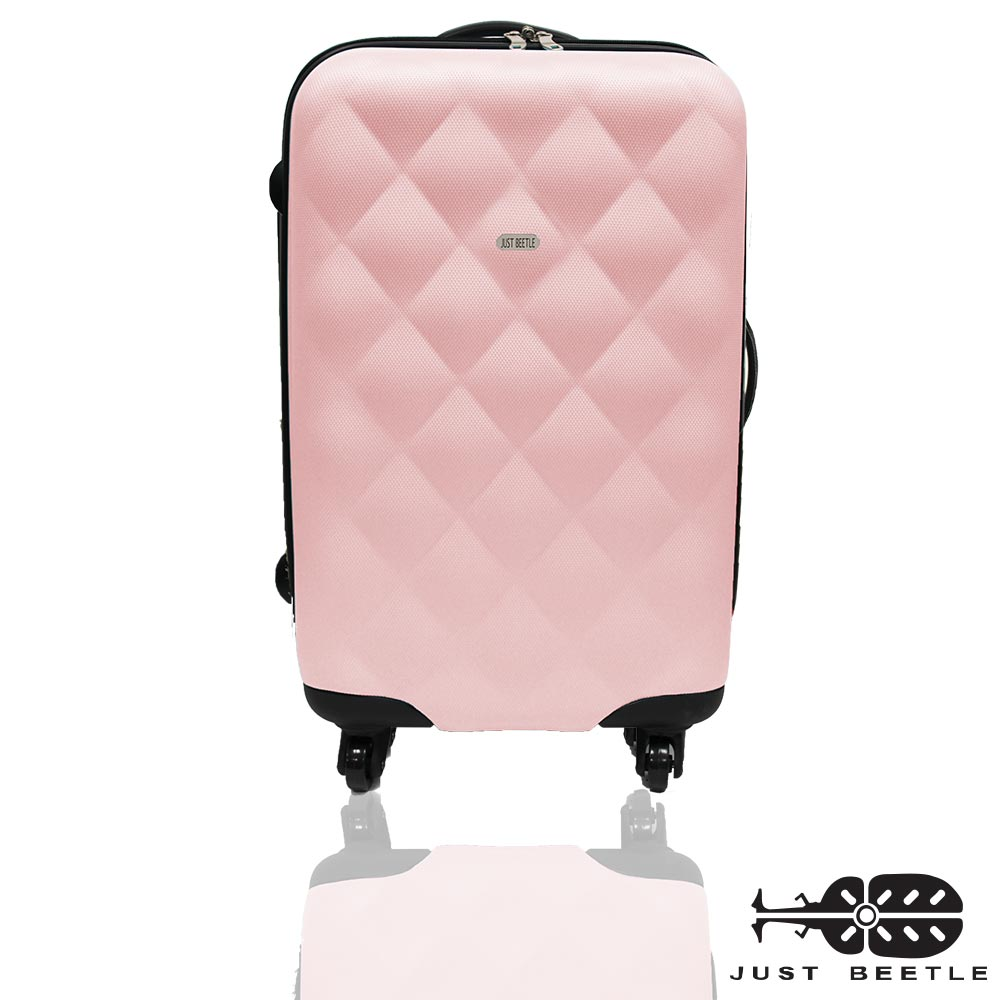 Just Beetle菱紋系列ABS材質28吋輕硬殼旅行箱/行李箱
