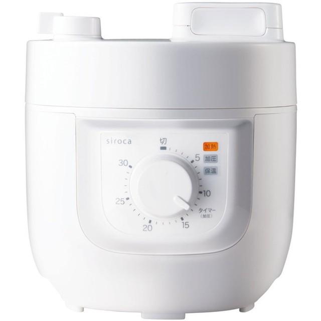 siroca SP-A111 ホワイト [電気圧力鍋] その他調理家電