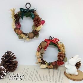「冬の花輪 - 小さな」