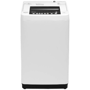 HW-T55C 全自動洗濯機 ホワイト [洗濯5.5kg /乾燥機能無 /上開き]