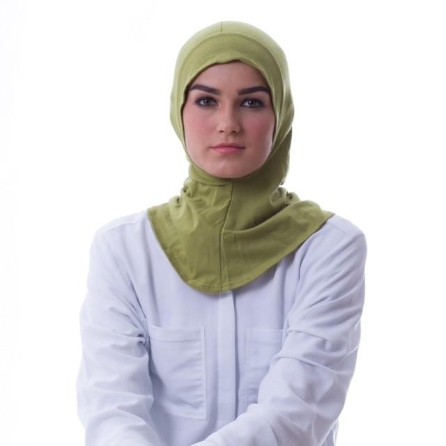 Diindri Hijab ciput Inner Antem Hijau Muda: Rp 59.000 Rp 39.000