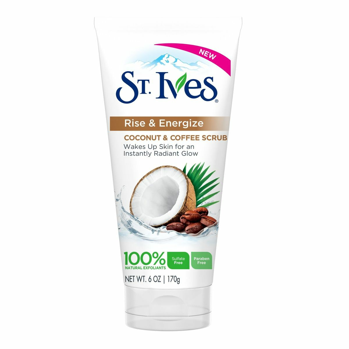 St. Ives Rise & Energize - Coconut & Coffee Scrub