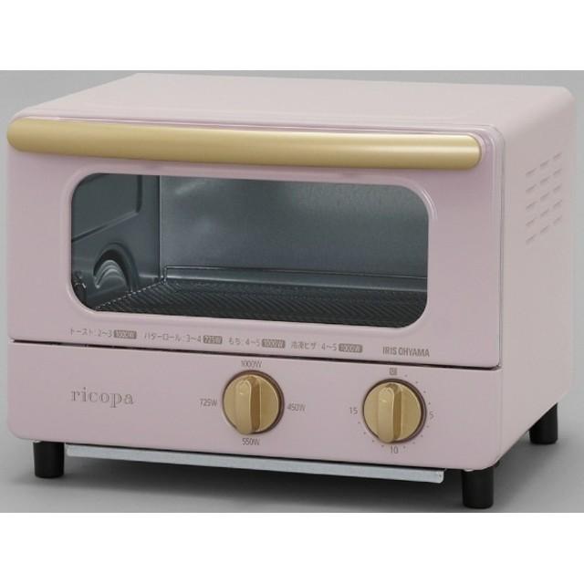 EOT-R1001 オーブントースター ricopa(リコパ) アッシュピンク