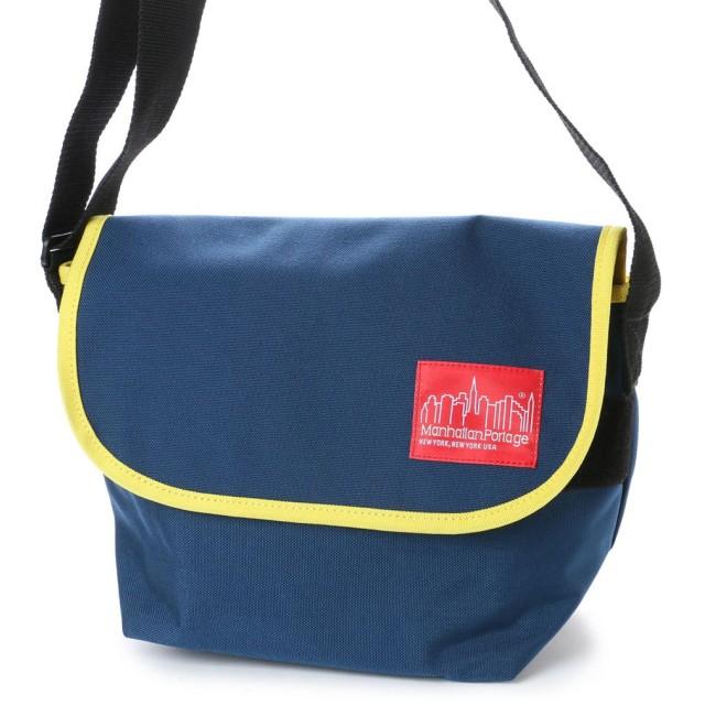 マンハッタンポーテージ Manhattan Portage 2tone Casual Messenger Bag (Navy/YEL)