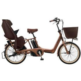 20型 電動アシスト自転車 ギュット・アニーズ・KE(マットフォースブラウン/内装3段変速) BE-ELKE03T【2018年モデル】