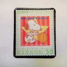 日本 切手ブローチ3226