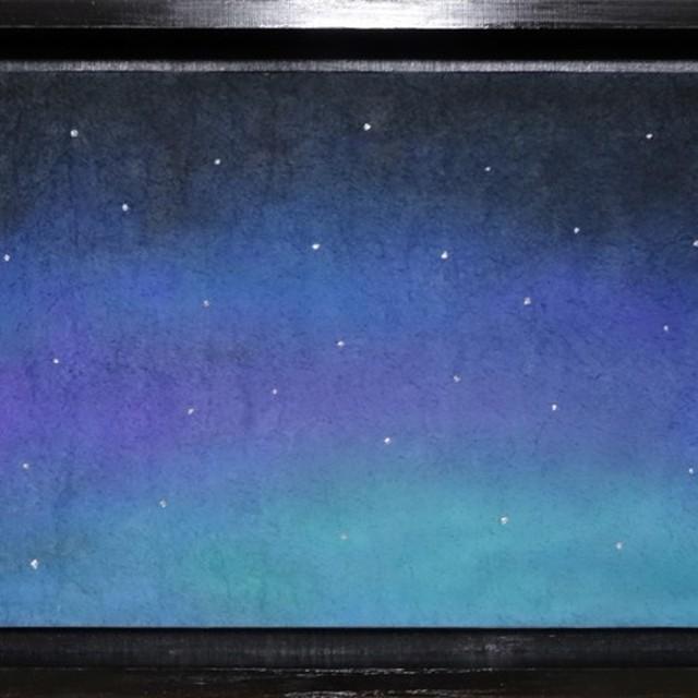アート・オブジェ「夜空」