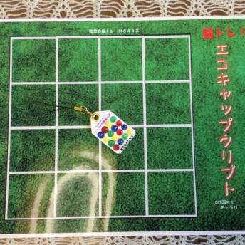 脳トレ&工作教室用 エコキャップクリプトボードゲーム 教材Aセット 10セット