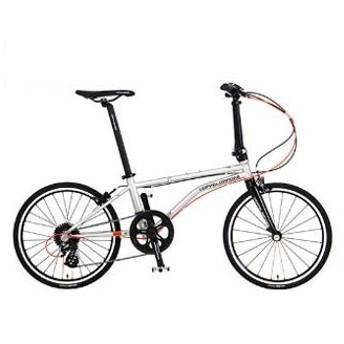 DOPPELGANGER 266-gy ソウルメタリックシルバー バックフリッパー [折りたたみ自転車 (20インチ)] 折りたたみ自転車・ミニベロ