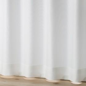 HOME COORDY 断熱効果 防炎 レースカーテン アイボリー 100X133cm 2枚入り HC-FPL ホームコーディ 100X133cm 2枚入り