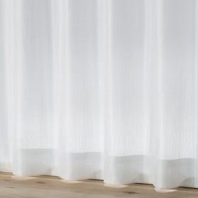 HOME COORDY 防視 見えにくいレースカーテン アイボリー 100X176cm 2枚入り HC-LSTR ホームコーディ 100X176cm 2枚入り
