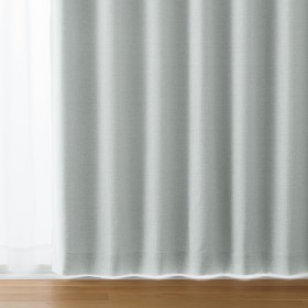 HOME COORDY プリーツ加工 冷暖房効率アップ 断熱効果 遮光 グレー 200X178cm 1枚入り タッセル付 HC-BK ホームコーディ 200X178cm 1枚入り タッセル付 厚地カーテン ブルー系