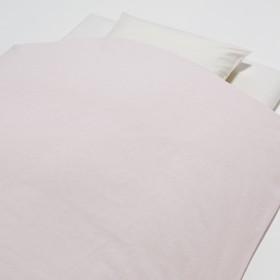 HOME COORDY 掛ふとんカバー わた染め水洗い加工 無地 シングル ピンク ホームコーディ シングル 掛け布団カバー